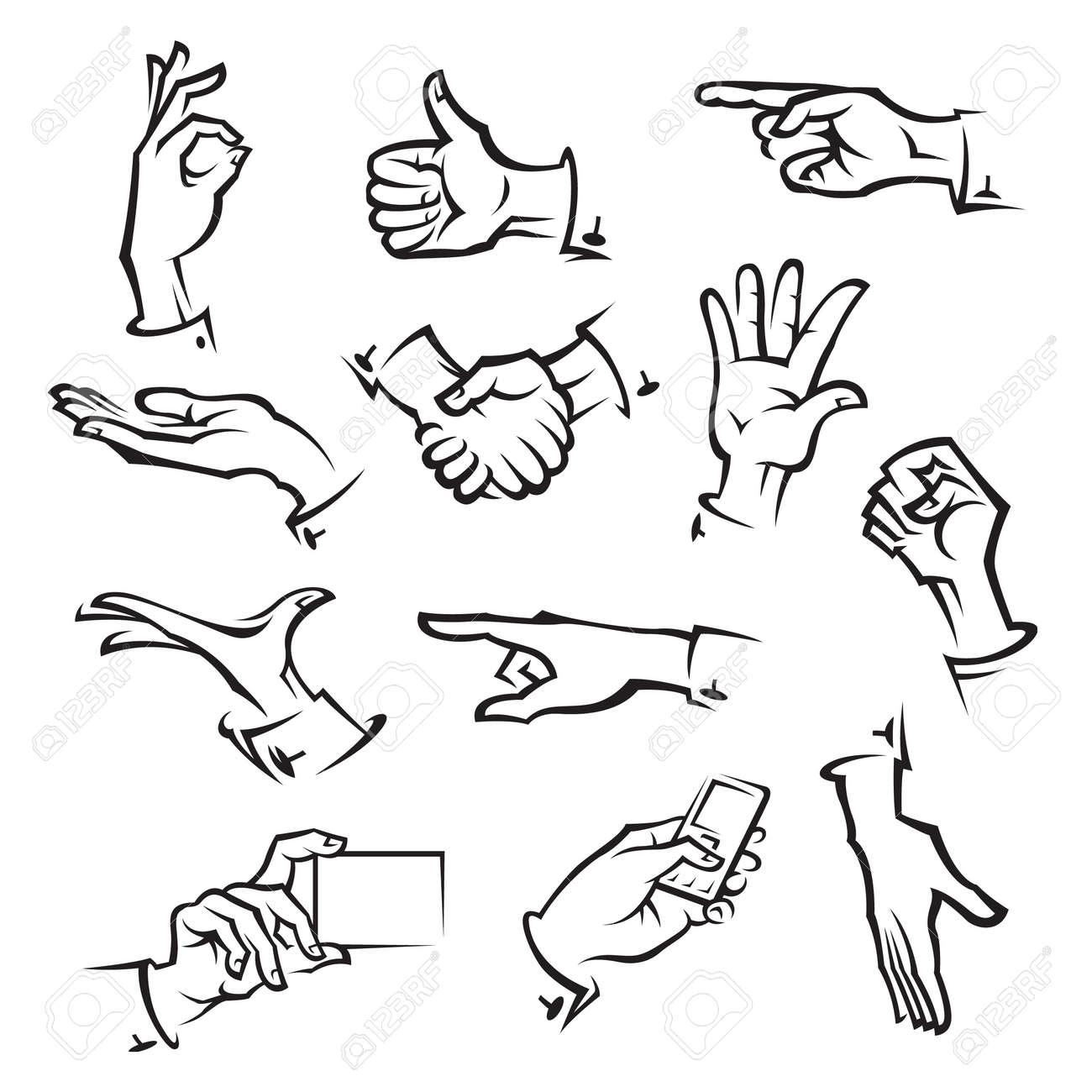 hands Stock Vector - 11650214