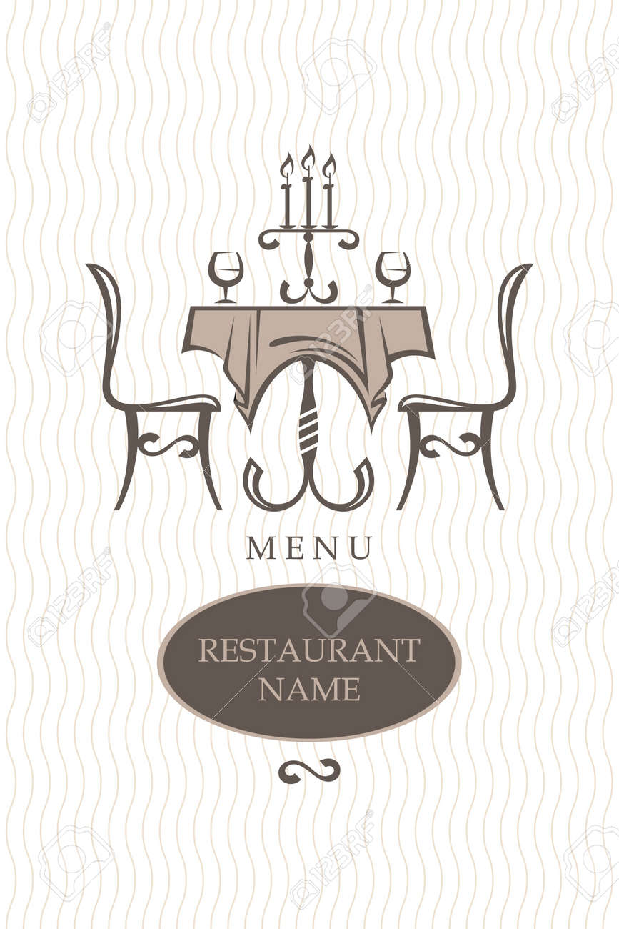 restaurant menu design Stock Vector - 12827219