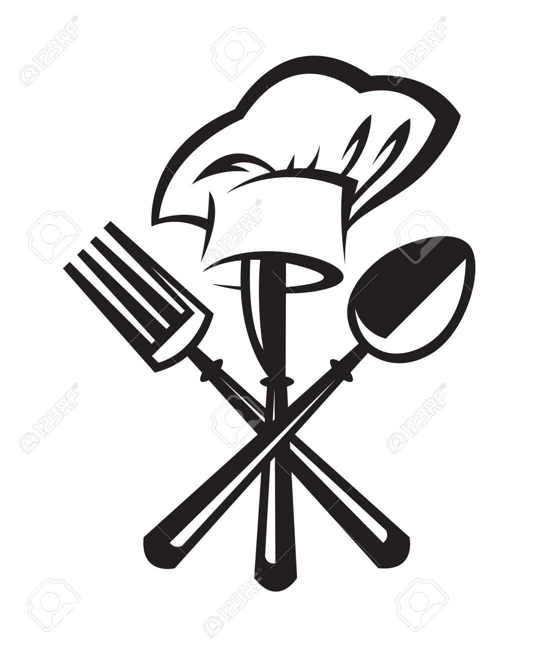 Messer und gabel clipart  Messer Gabel Löffel Lizenzfreie Vektorgrafiken Kaufen: 123RF