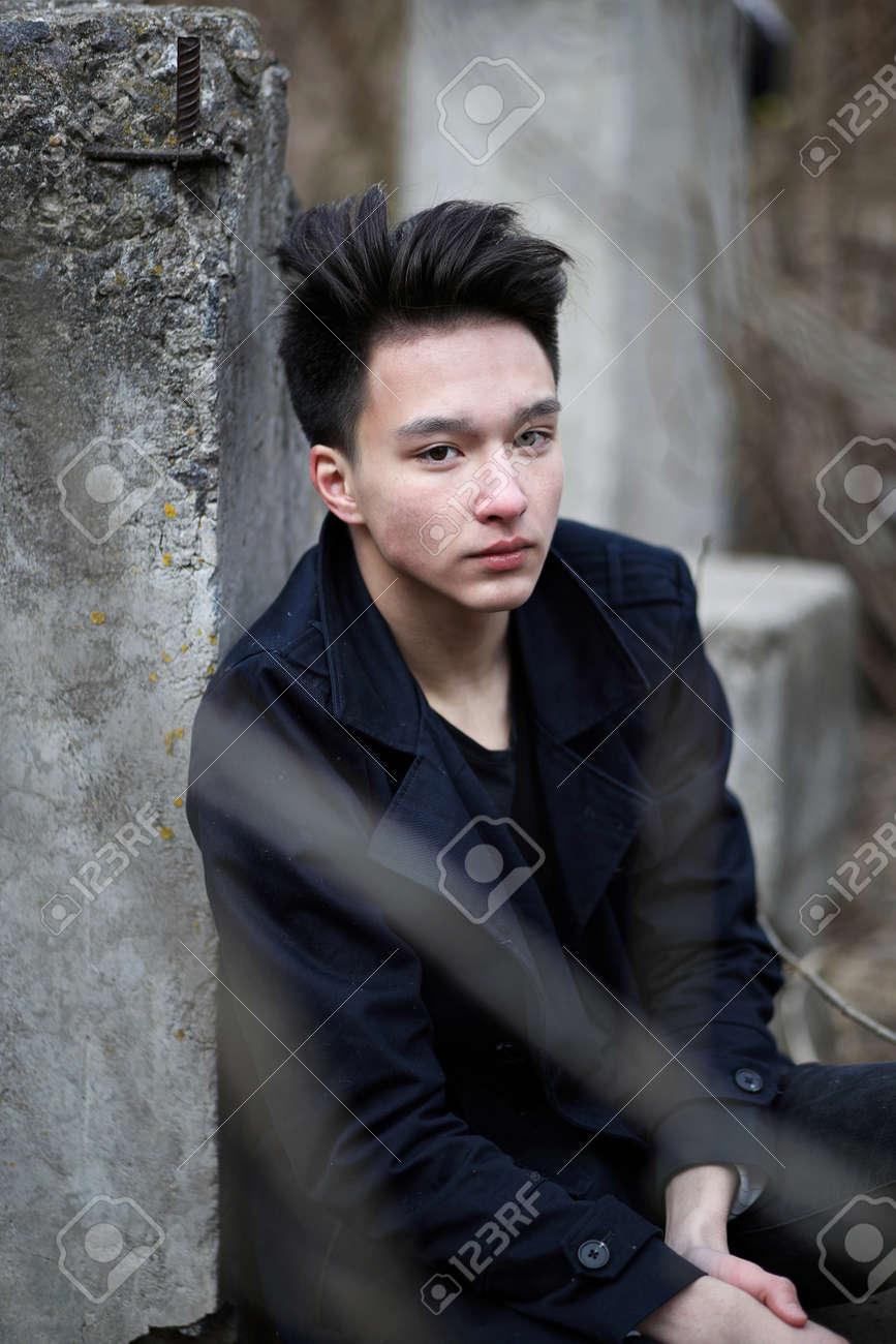 Asian punk boy
