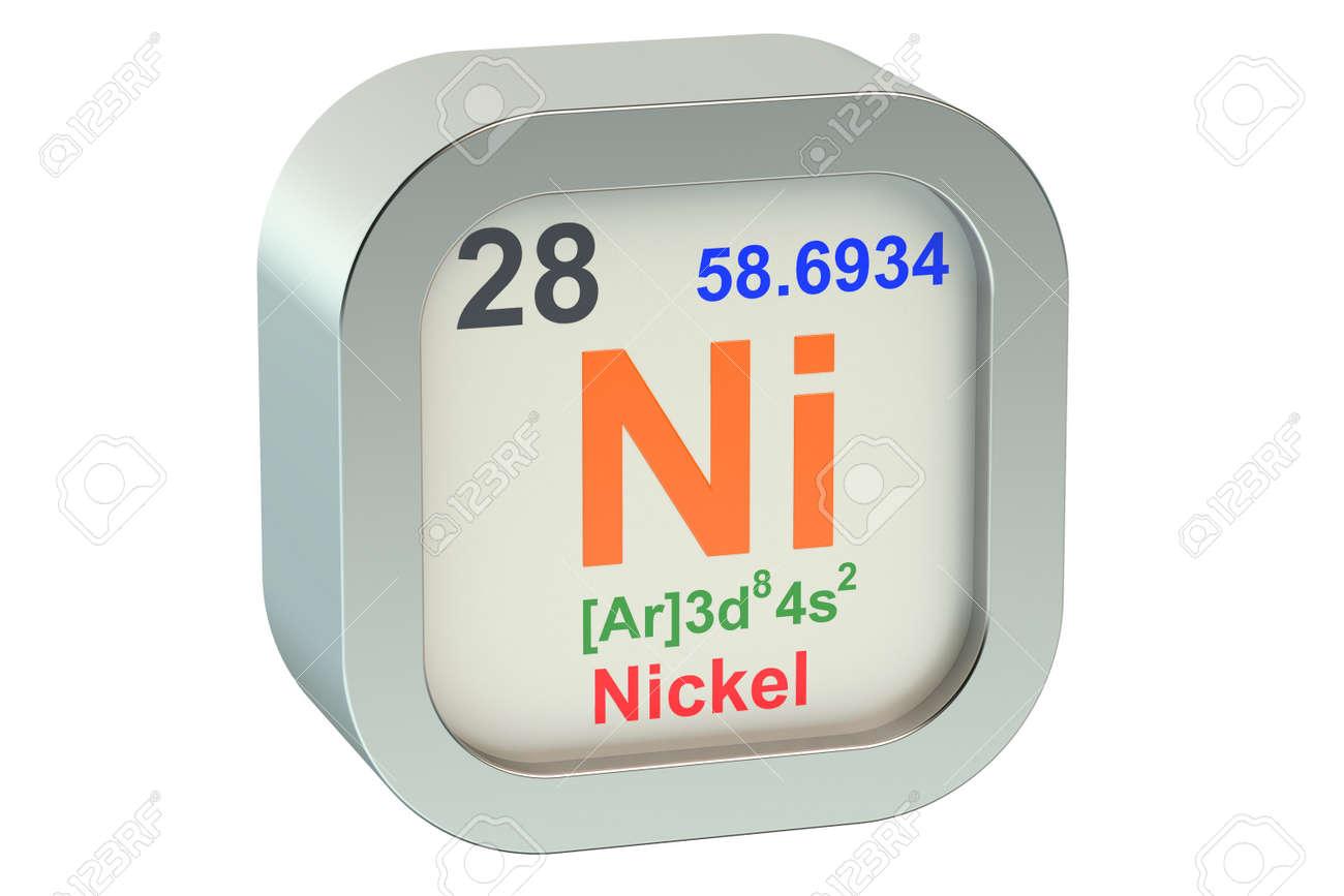 Nickel element symbol isolated on white background stock photo nickel element symbol isolated on white background stock photo 45344298 buycottarizona Images