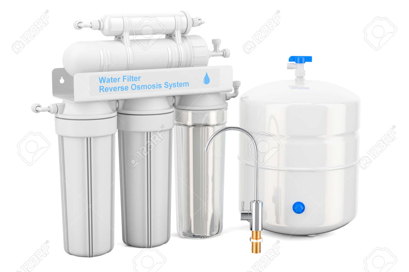 Reverse Osmosis System, 3D rendering - 91304613