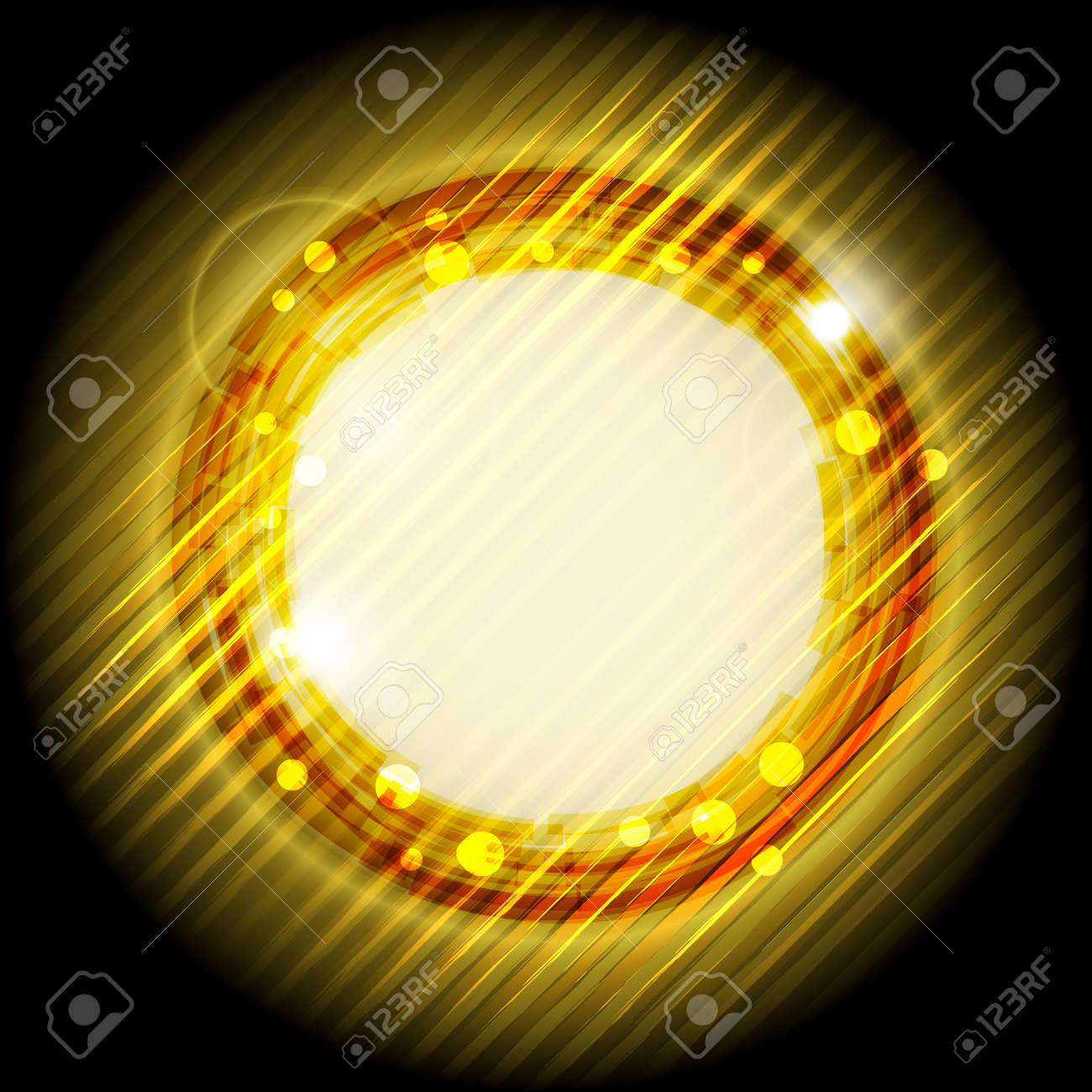 abstract background, bright shiny sun Stock Vector - 11557977
