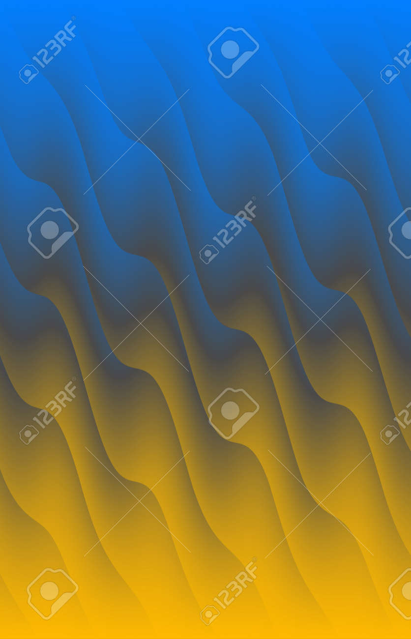 Abstract colored wave background. The background - 169048906