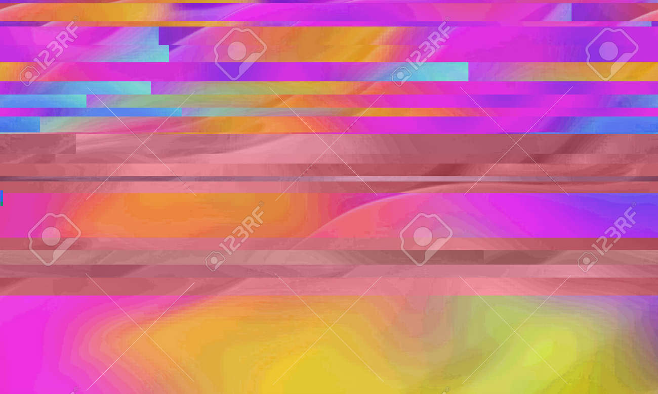 Abstract colored background with glitch effect - 169048953