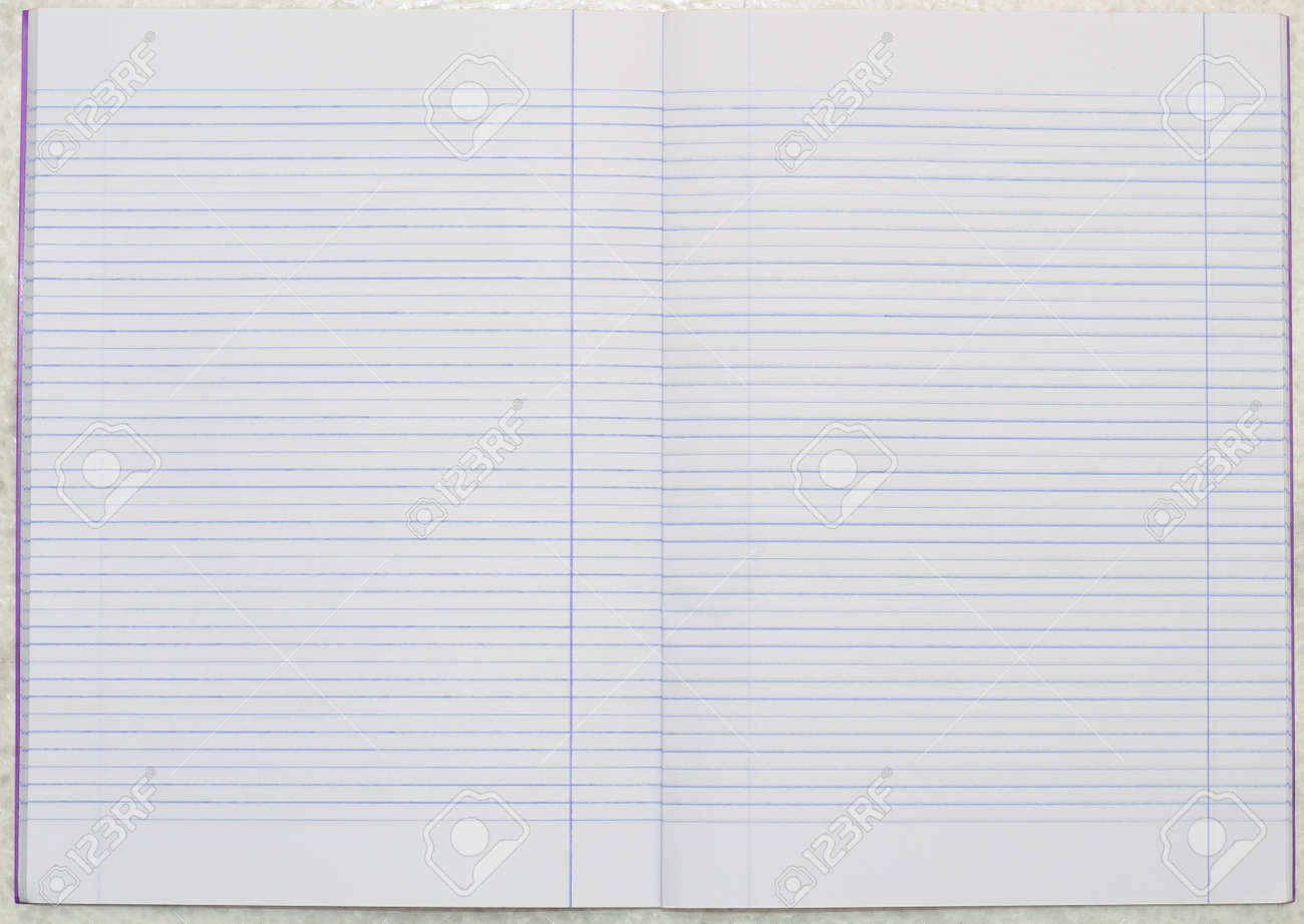 The Blank Line Notebook Paper Photo Picture And Royalty – Blank Line Paper