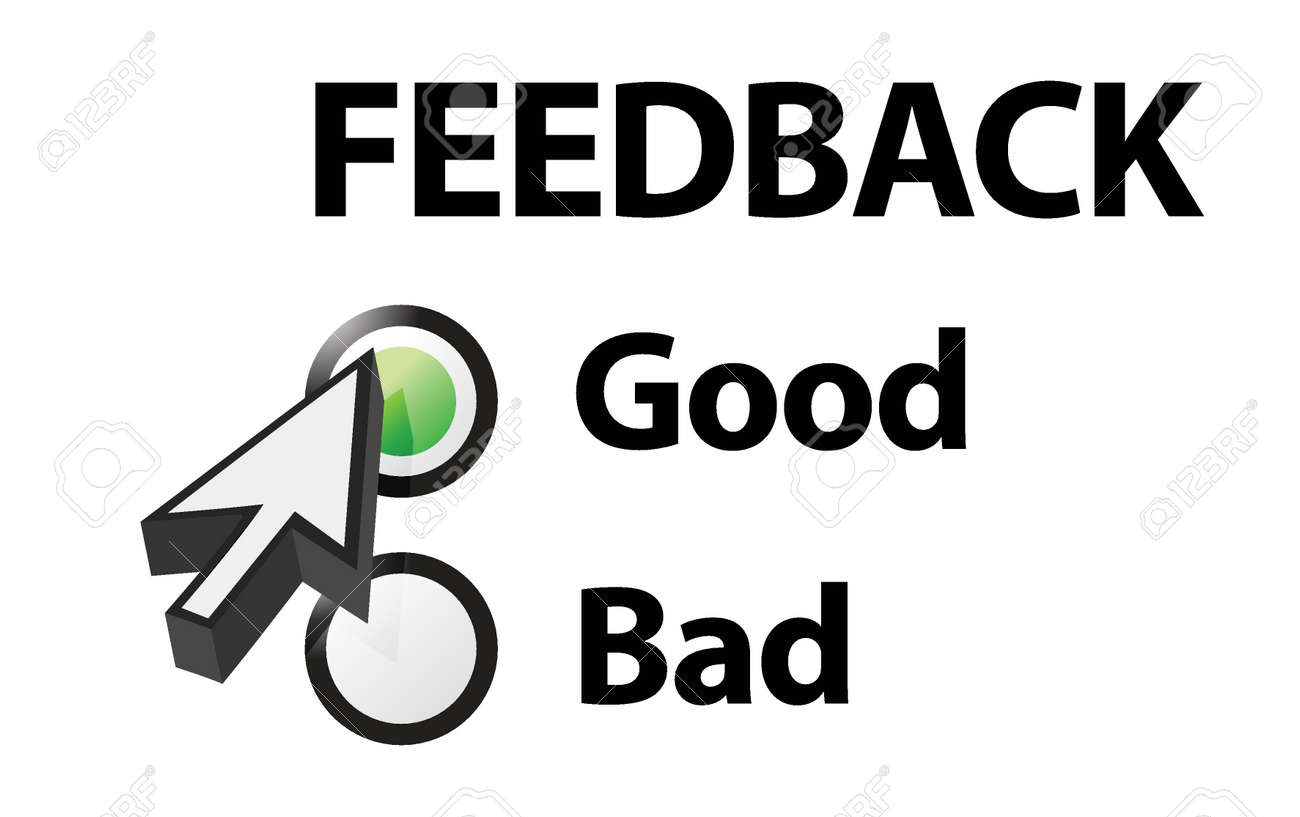 Good selected on a feedback question  Illustration design Stock Vector - 15734942