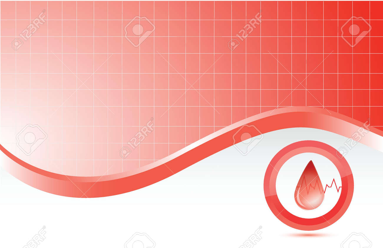 blood red medical background illustration design graphic Stock Vector - 16836774
