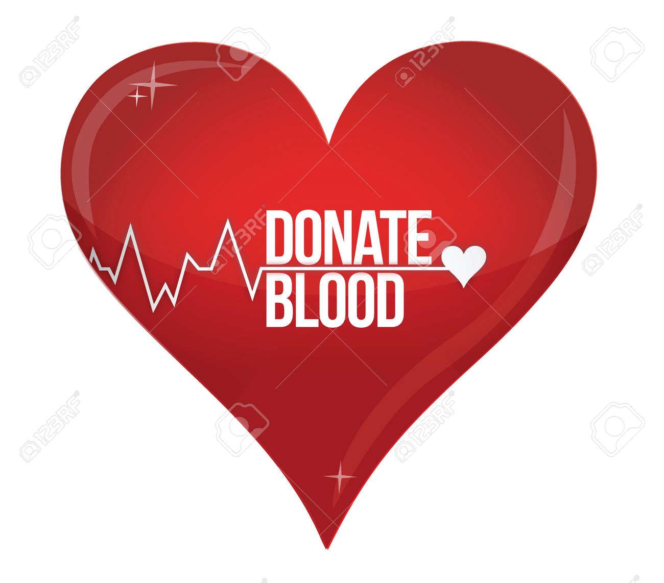Poster design on blood donation - Blood Donation Blood Donation Medicine Help Hospital Save Life Heart Illustration Design Over White Illustration