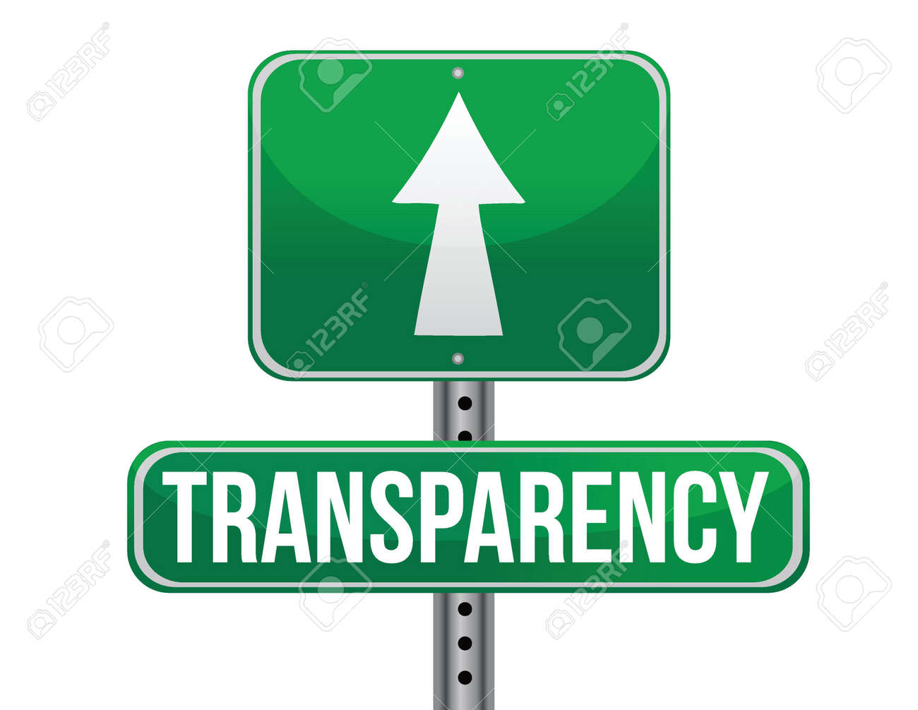 transparency road sign illustration design over a white background Stock Vector - 19311169