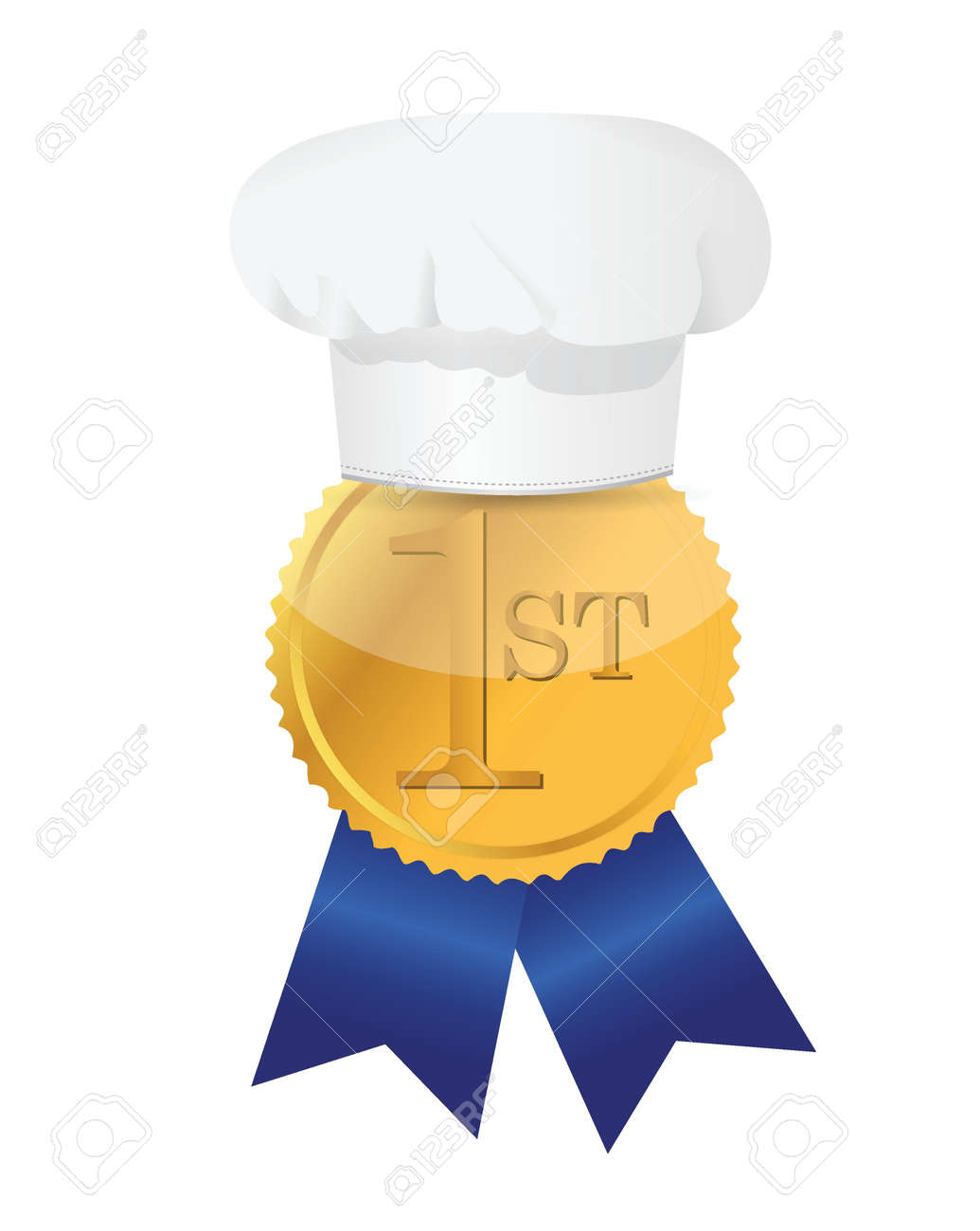 1st ribbon