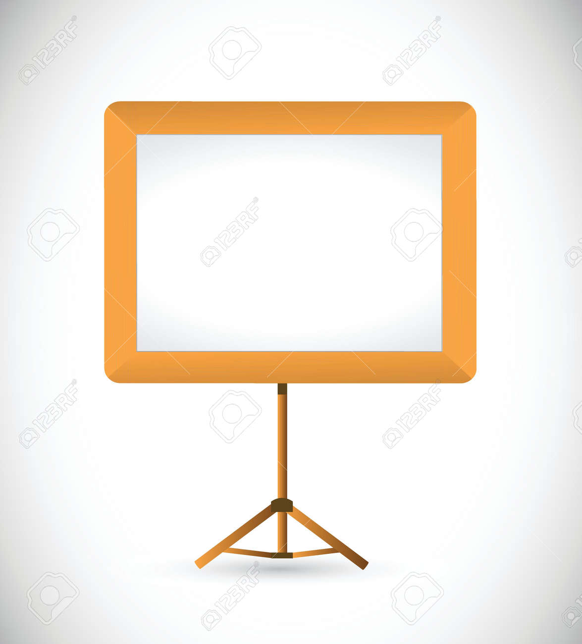 white board illustration design over a plain background Stock Vector - 21603230