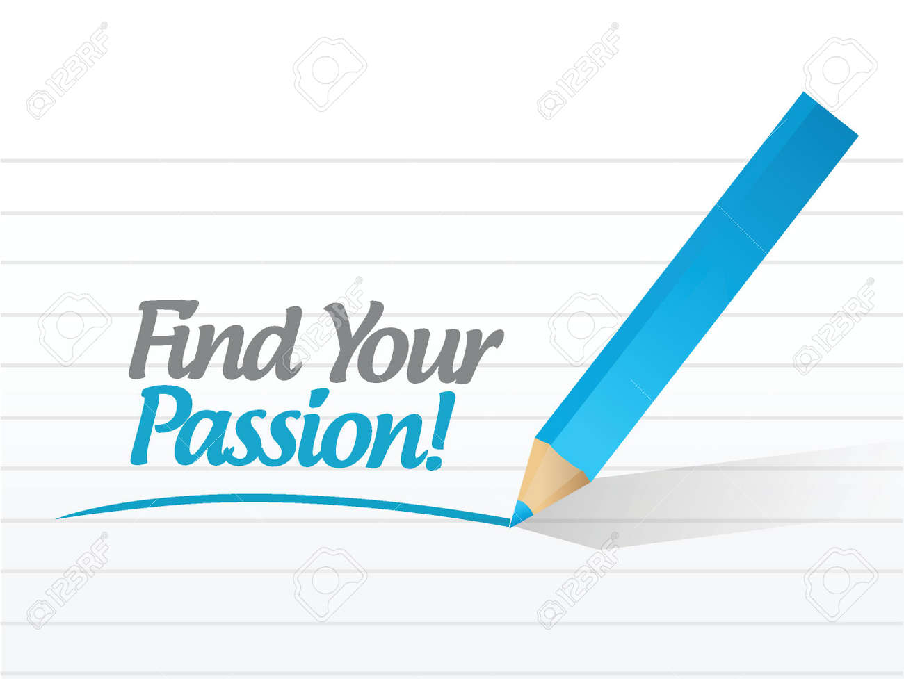 find your passion message sign illustration design over a white vector your passion message sign illustration design over a white background