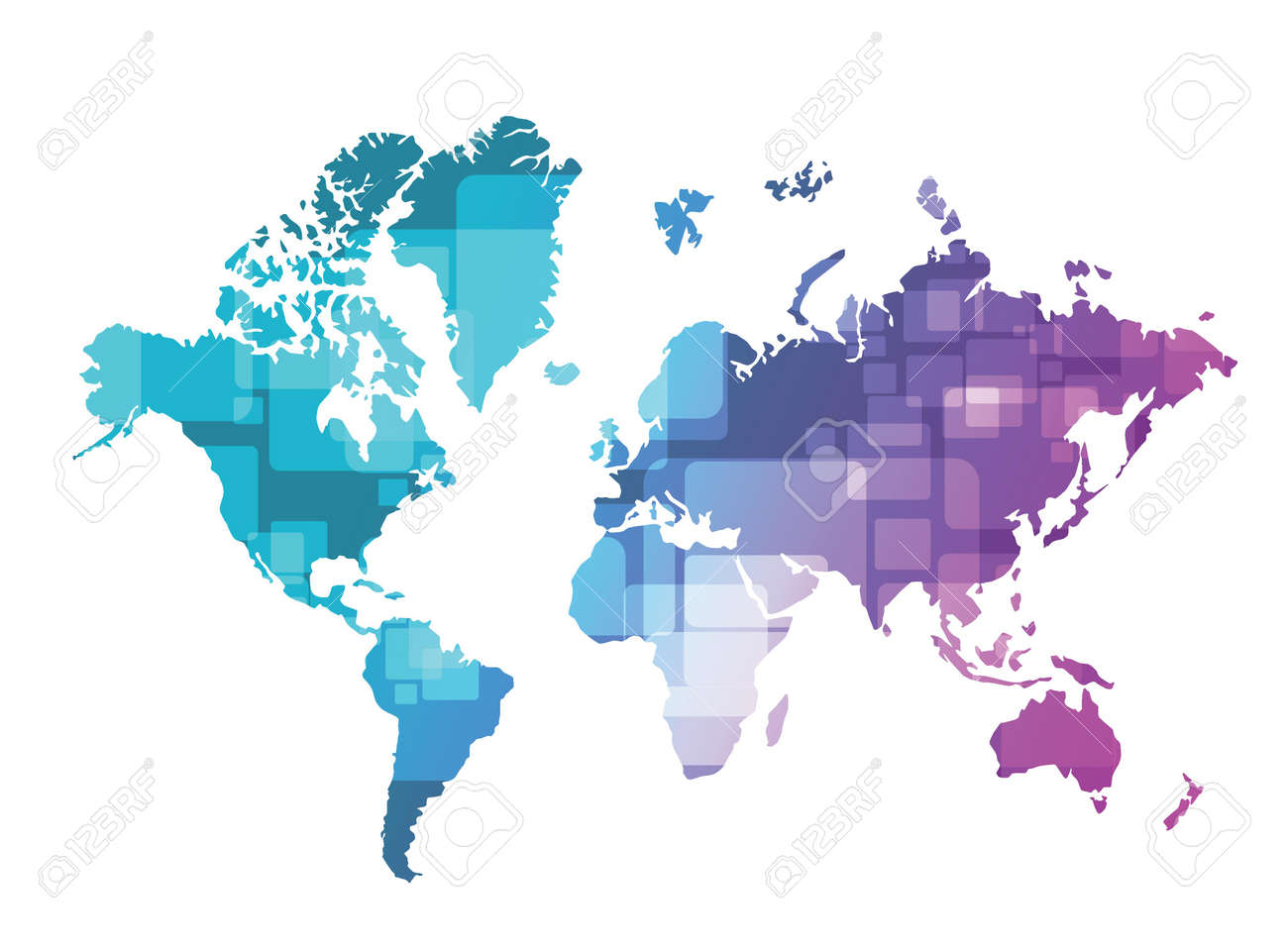 World map technology illustration design over a green and purple world map technology illustration design over a green and purple background foto de archivo 28561962 gumiabroncs Image collections