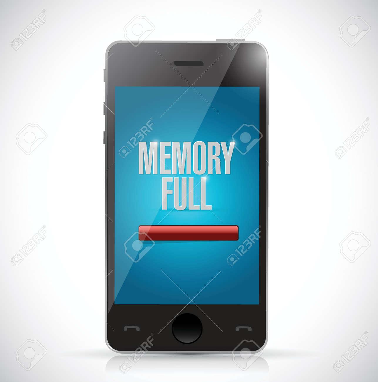 メモリ が いっぱい です