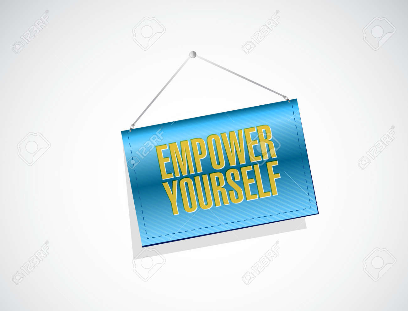 Empower yourself banner sign concept illustration design graphic empower yourself banner sign concept illustration design graphic stock vector 47069304 solutioingenieria Image collections