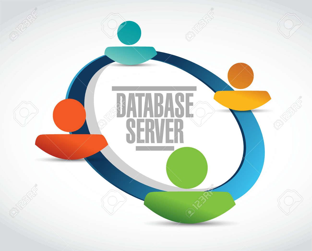 Database server people diagram sign illustration design graphic database server people diagram sign illustration design graphic stock vector 51864033 ccuart Images