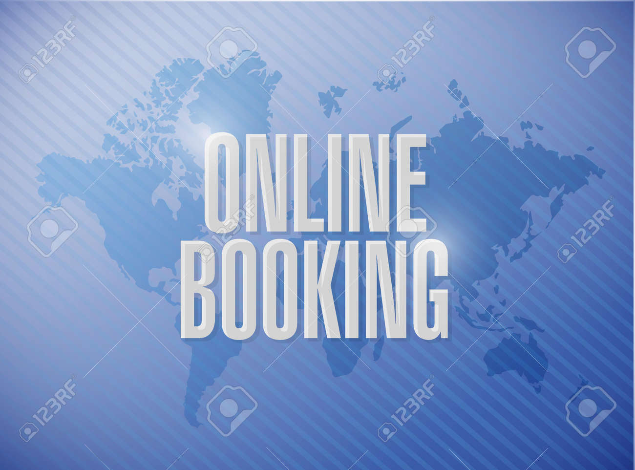 Online booking world map sign concept illustration design graphic online booking world map sign concept illustration design graphic stock vector 52757369 gumiabroncs Images