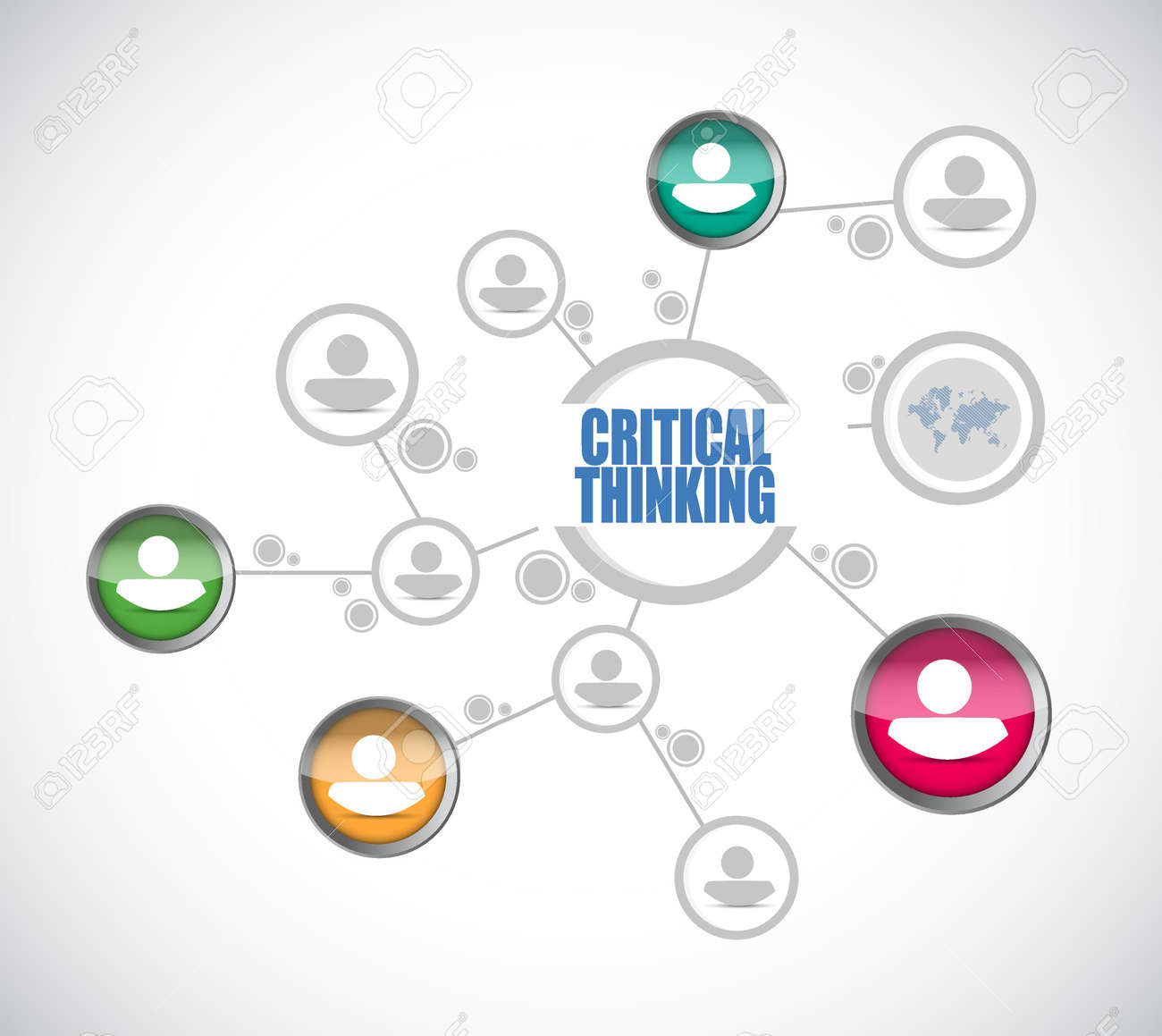 Critical thinking diagram sign illustration design graphic royalty critical thinking diagram sign illustration design graphic stock vector 54134861 pooptronica Image collections