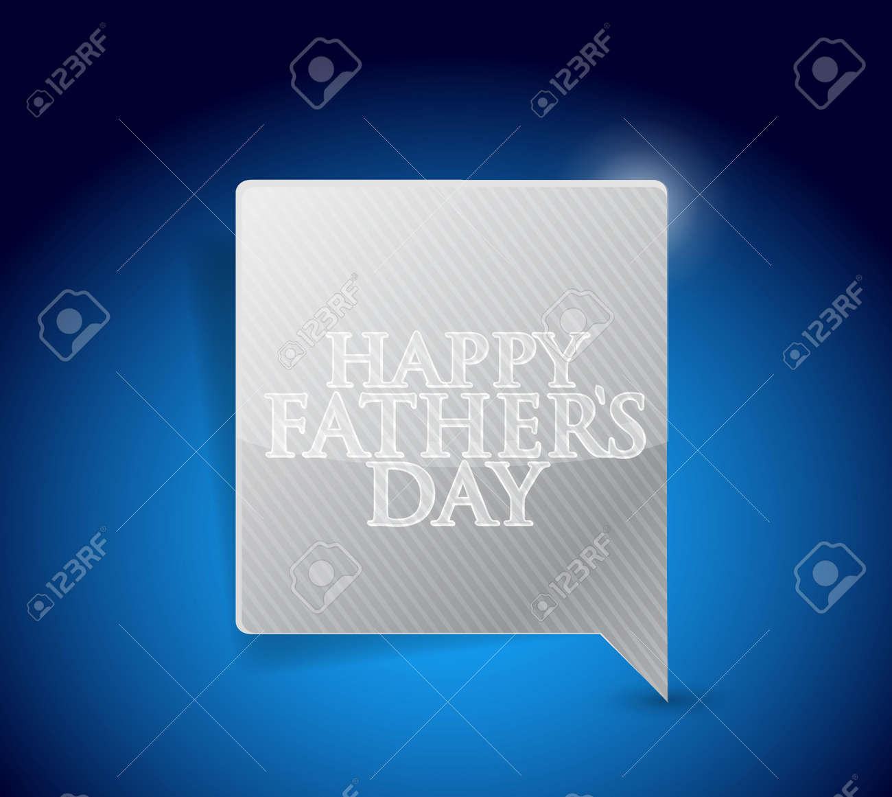 happy fathers day message sign illustration design graphic stock vector 58471670