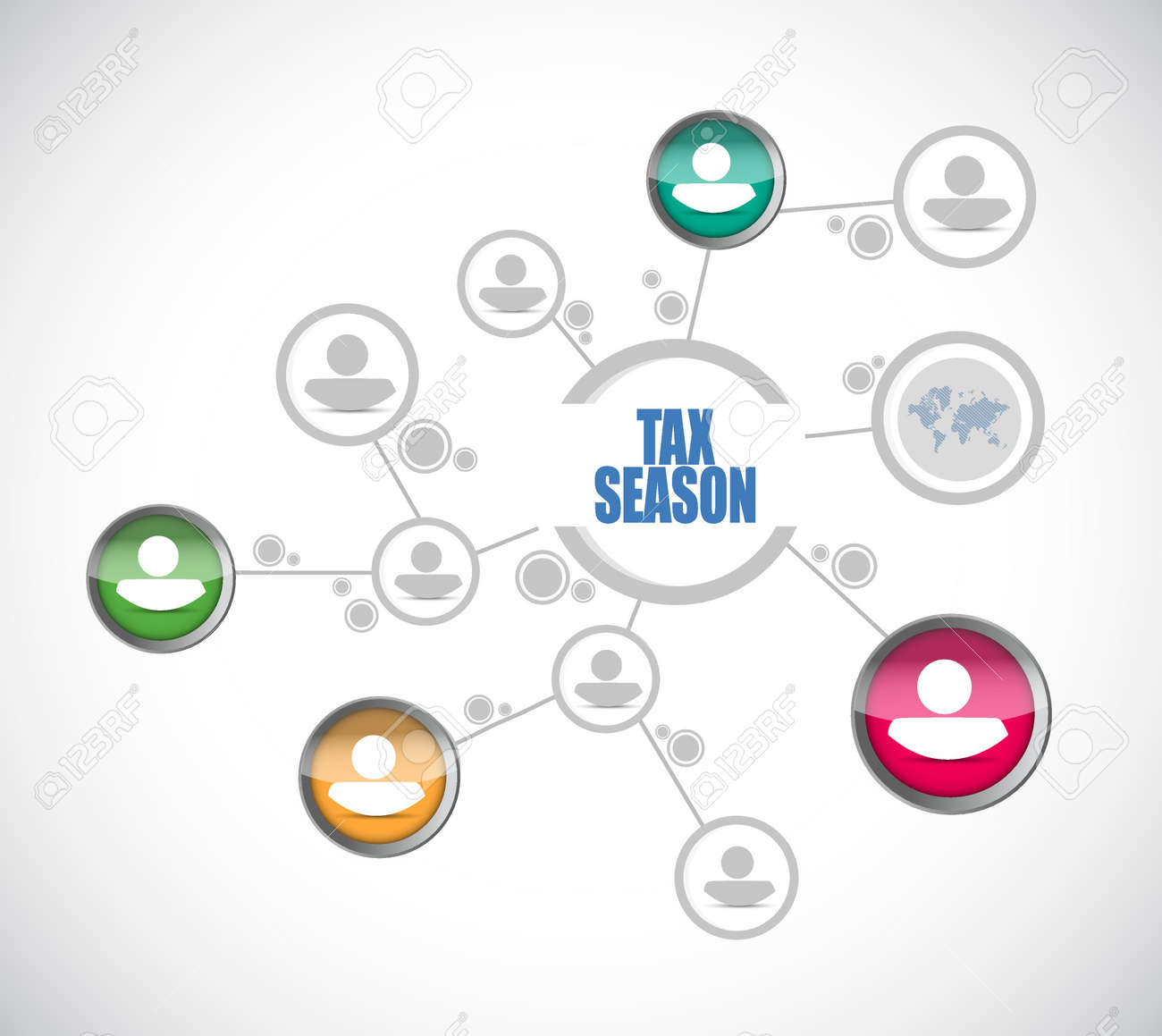 Tax season people diagram sign concept illustration design tax season people diagram sign concept illustration design isolated over white stock vector 71146966 pooptronica Images