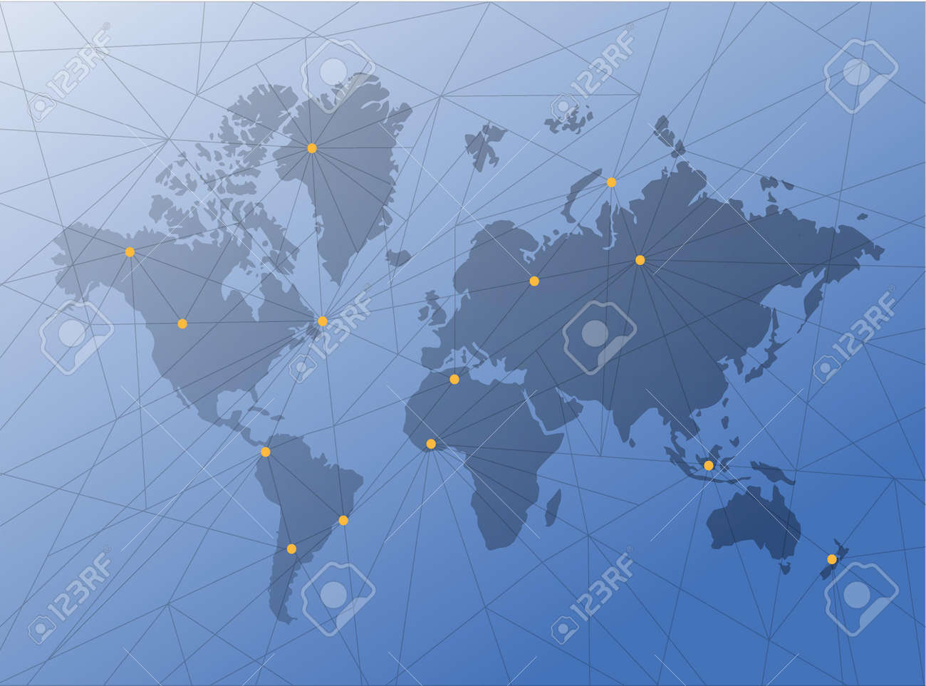 World map technology network diagram link blue illustration vector world map technology network diagram link blue illustration background gumiabroncs Image collections