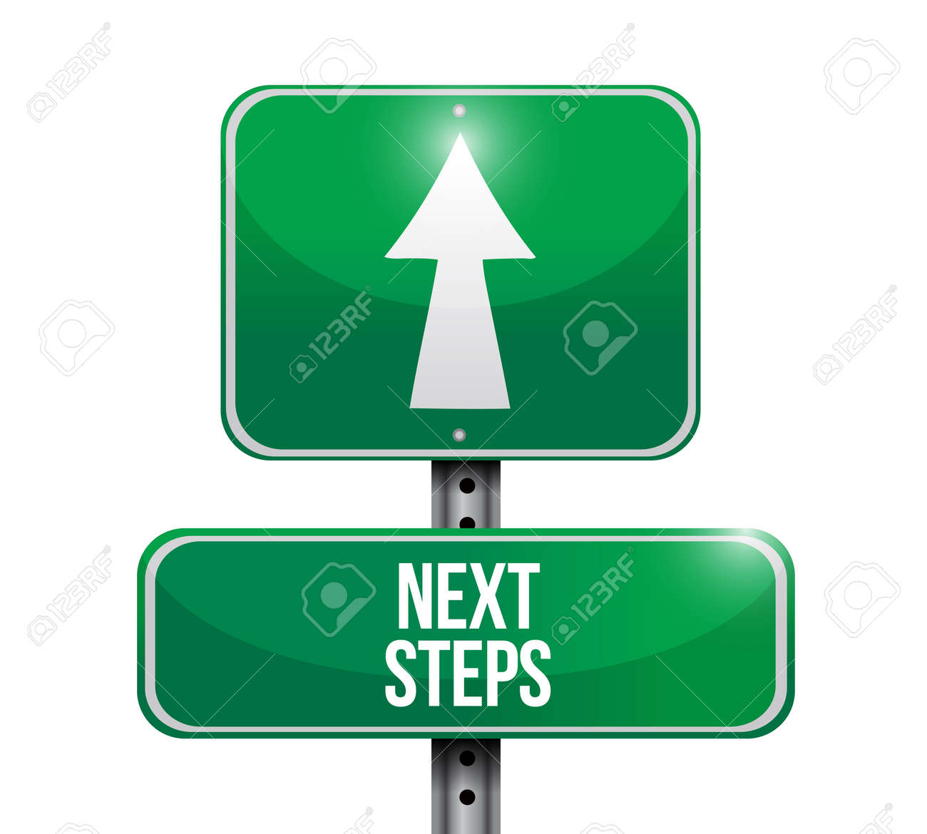 Next steps sign icon Stock Vector - 99407755