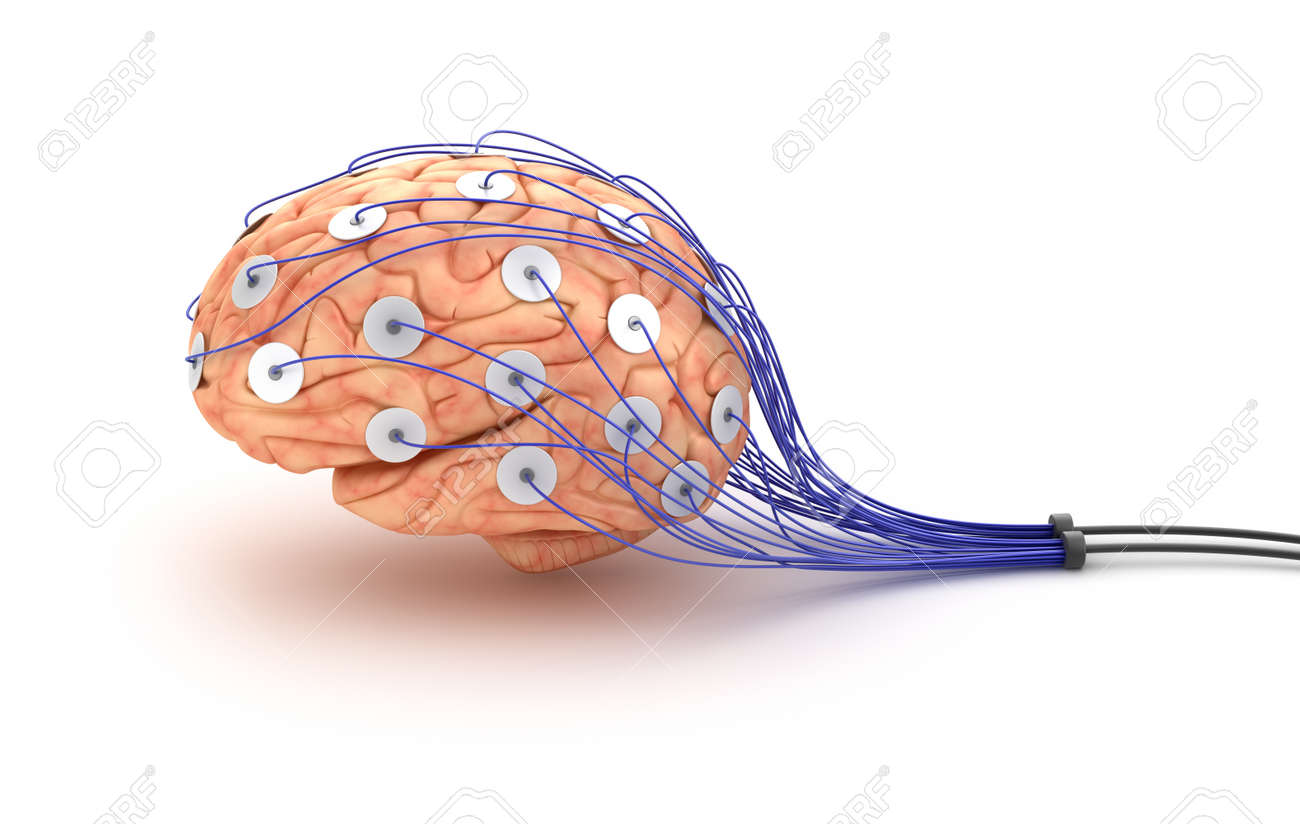 Brain Analysis Polygraph Test Stock Photo, Picture And Royalty Free ...