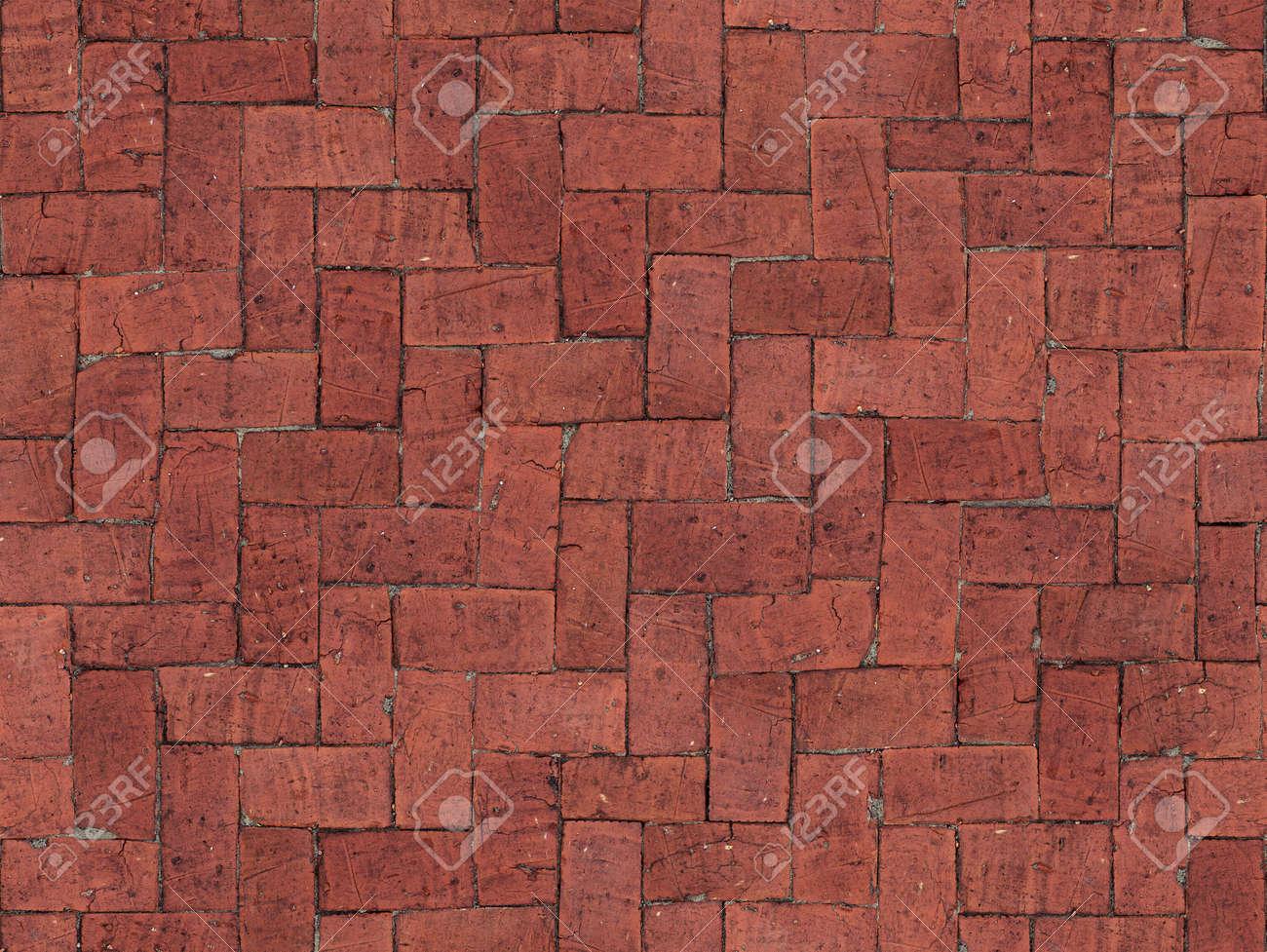 Senza soluzione di continuità piastrelle pavimento di mattoni