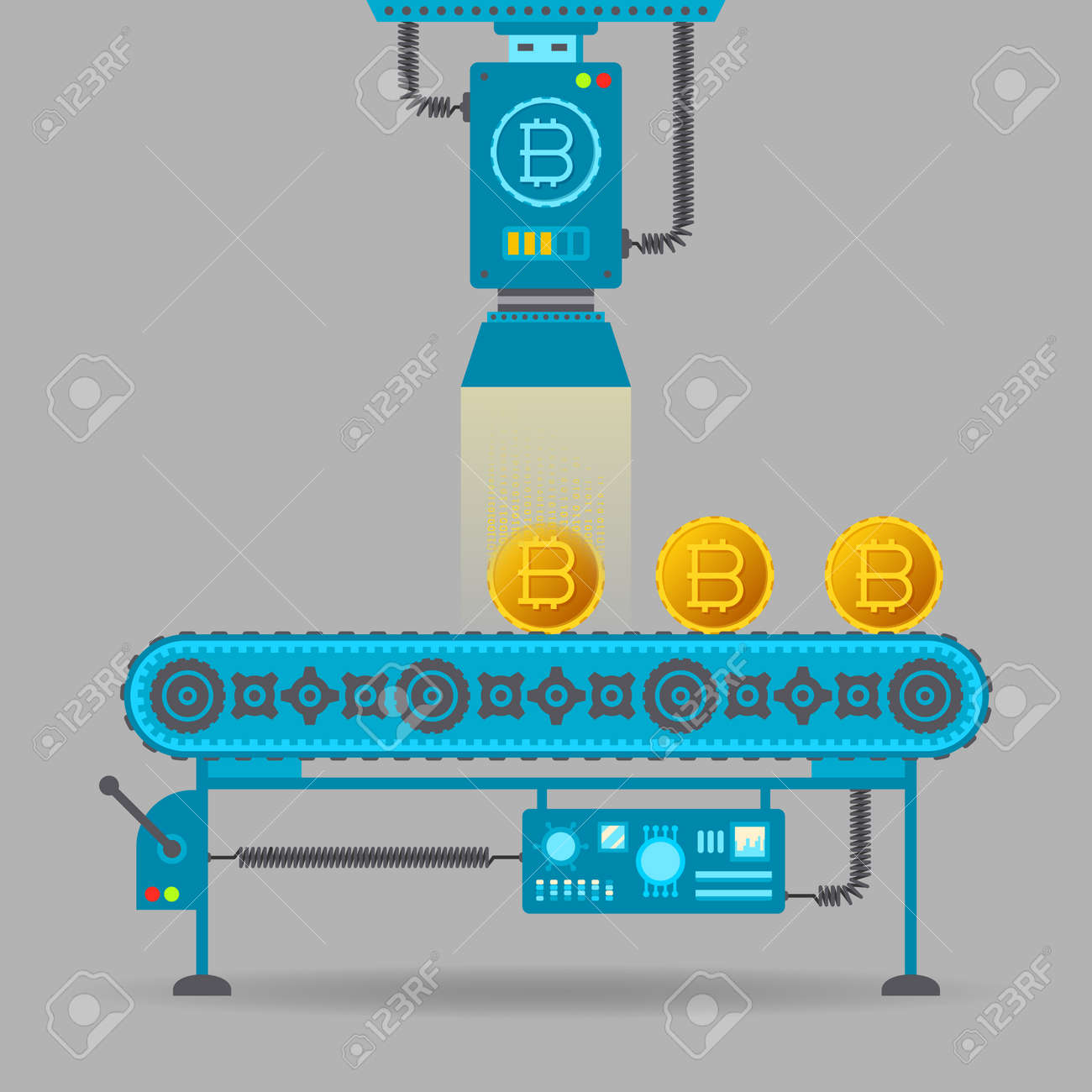 Belt conveyors mining bitcoins allpay ez bitcoins