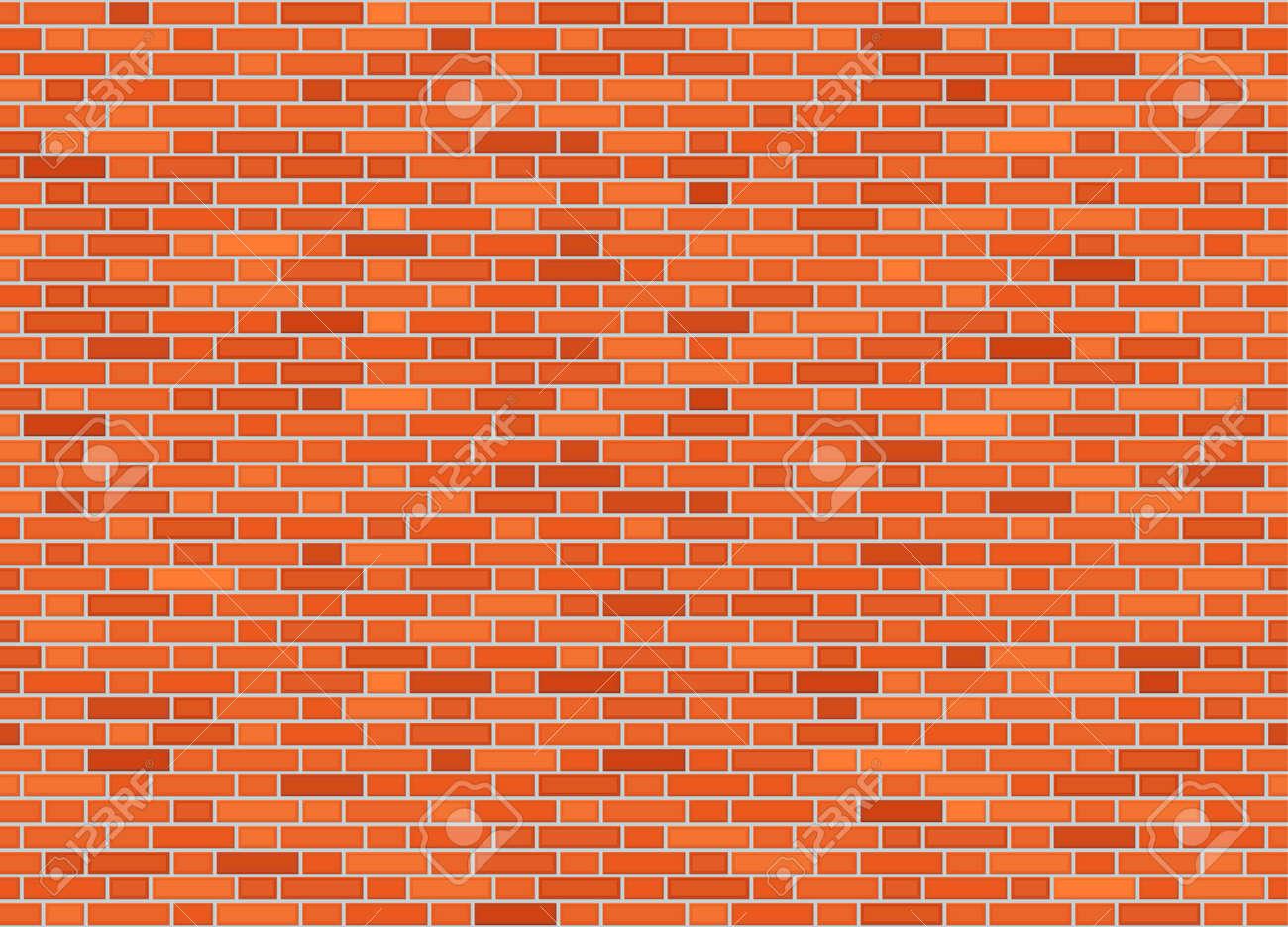 Vector seamless flemish bond brick wall texture - 98028440