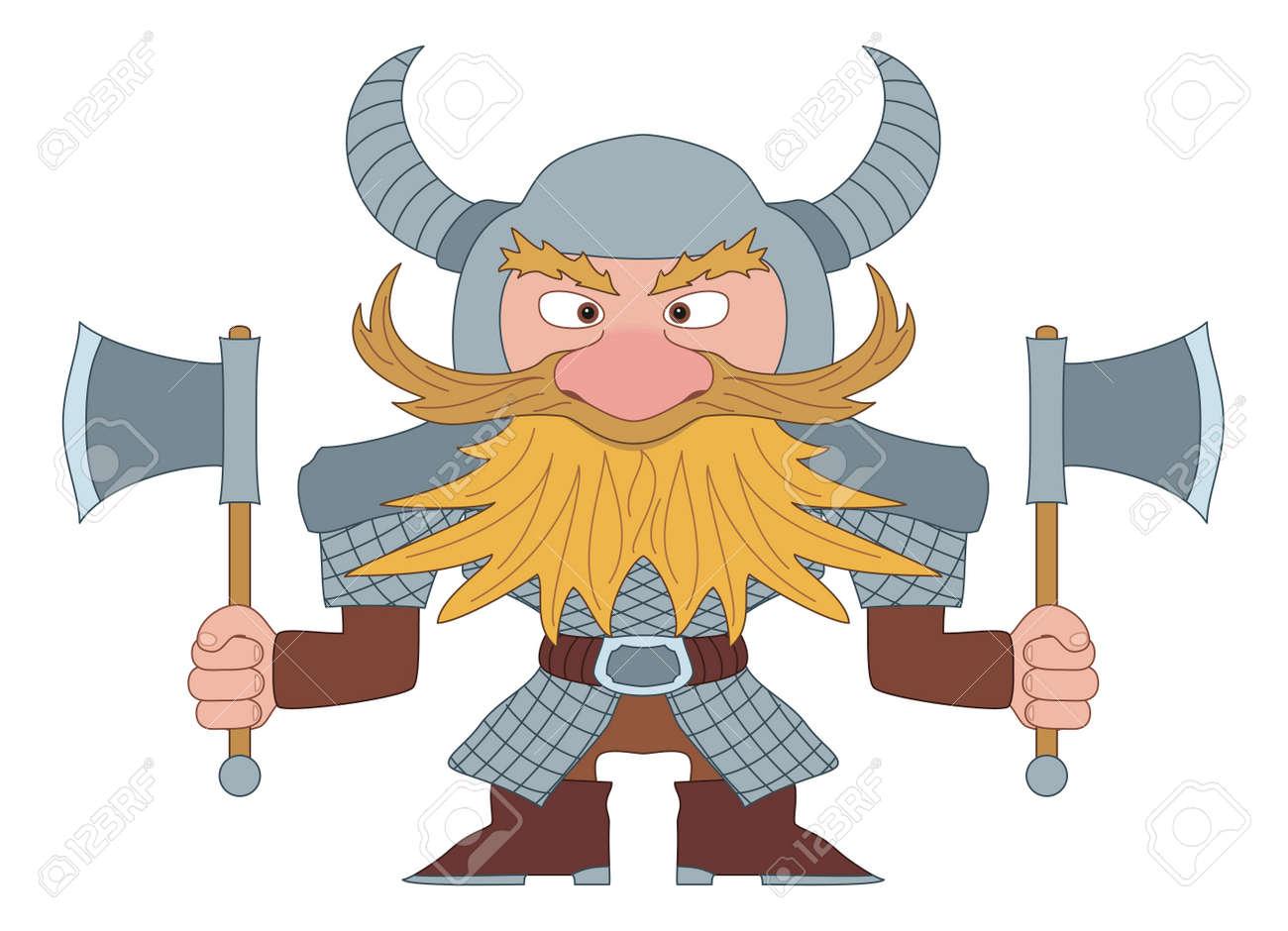 Dwarf Battle Axe Fantasy Art