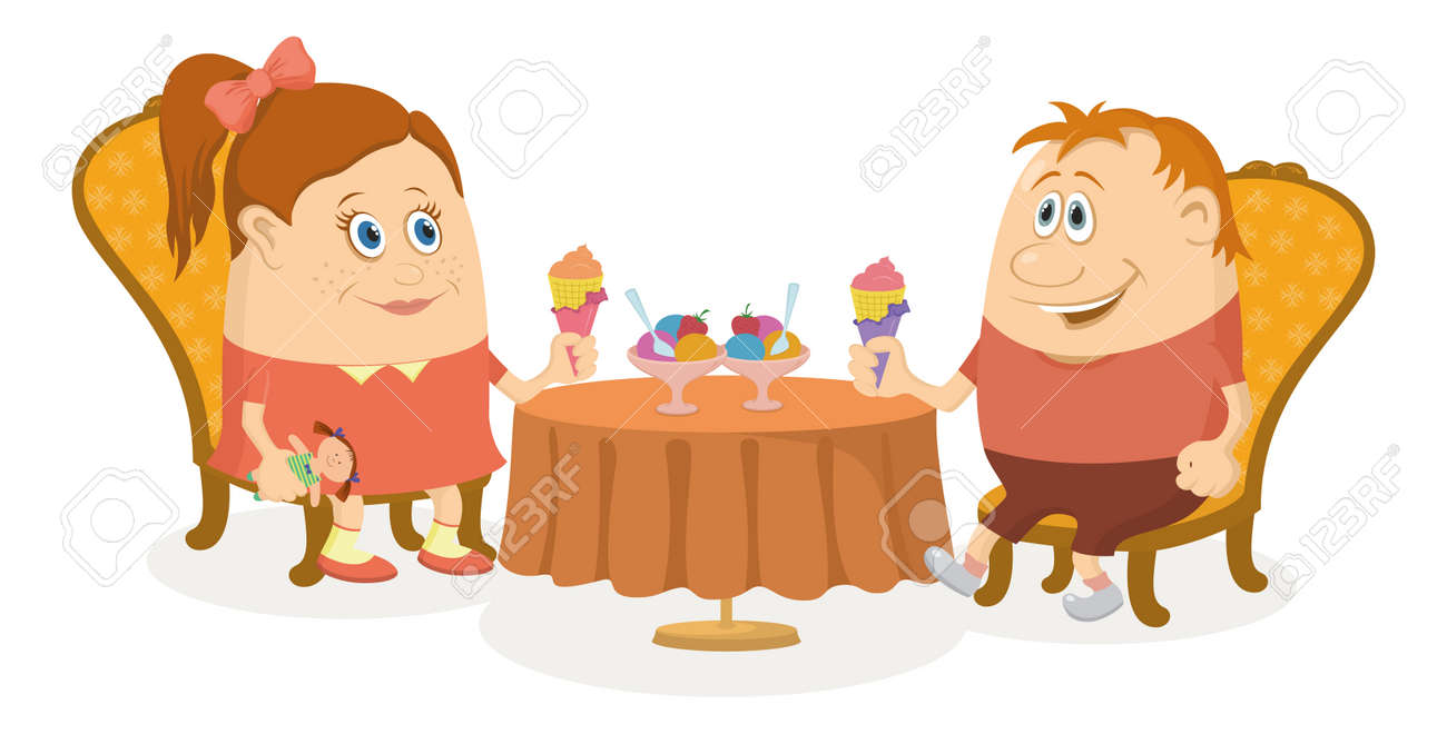 Table Eating Cream
