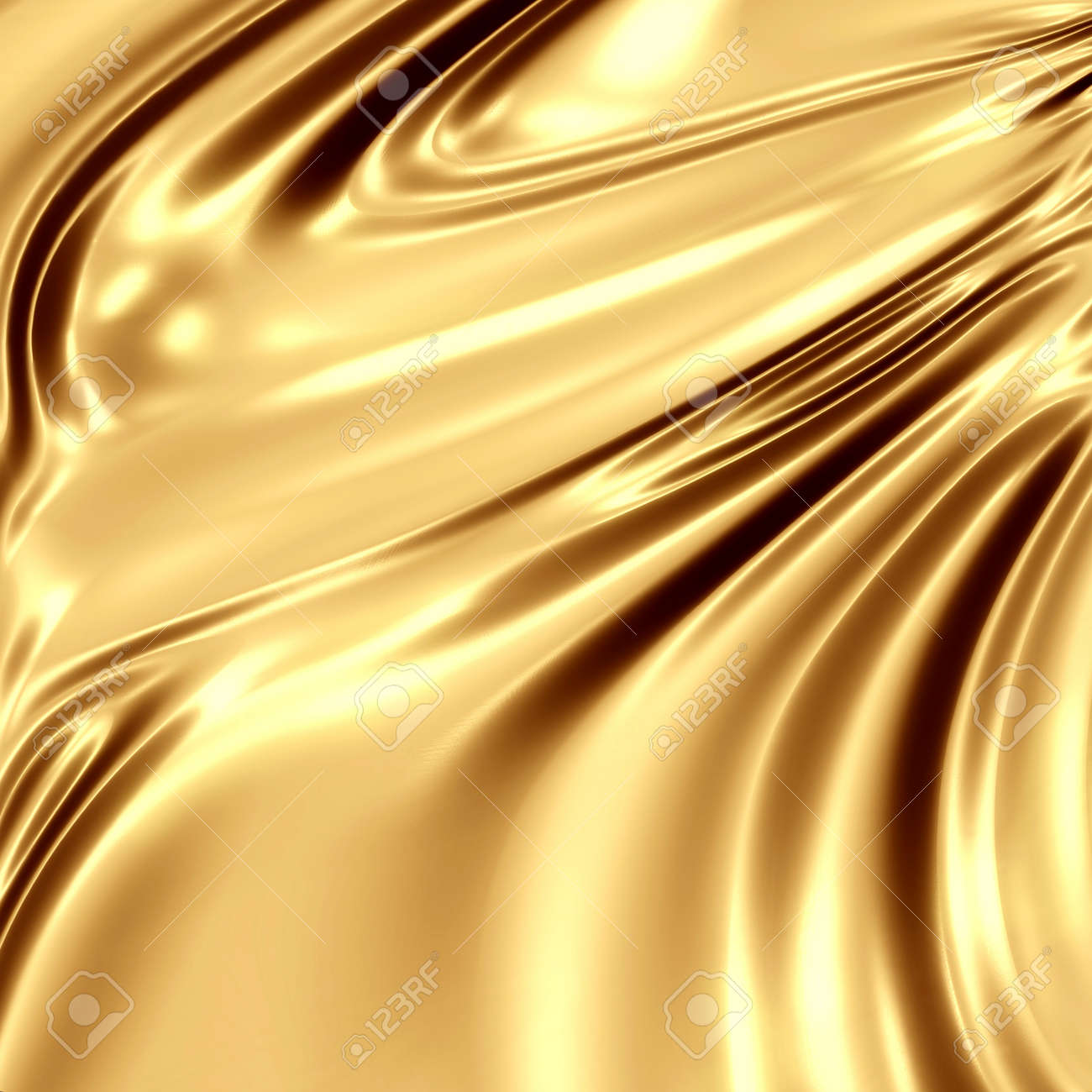 Slipper Satin Gold - Discount Designer Fabric - Fabric.com