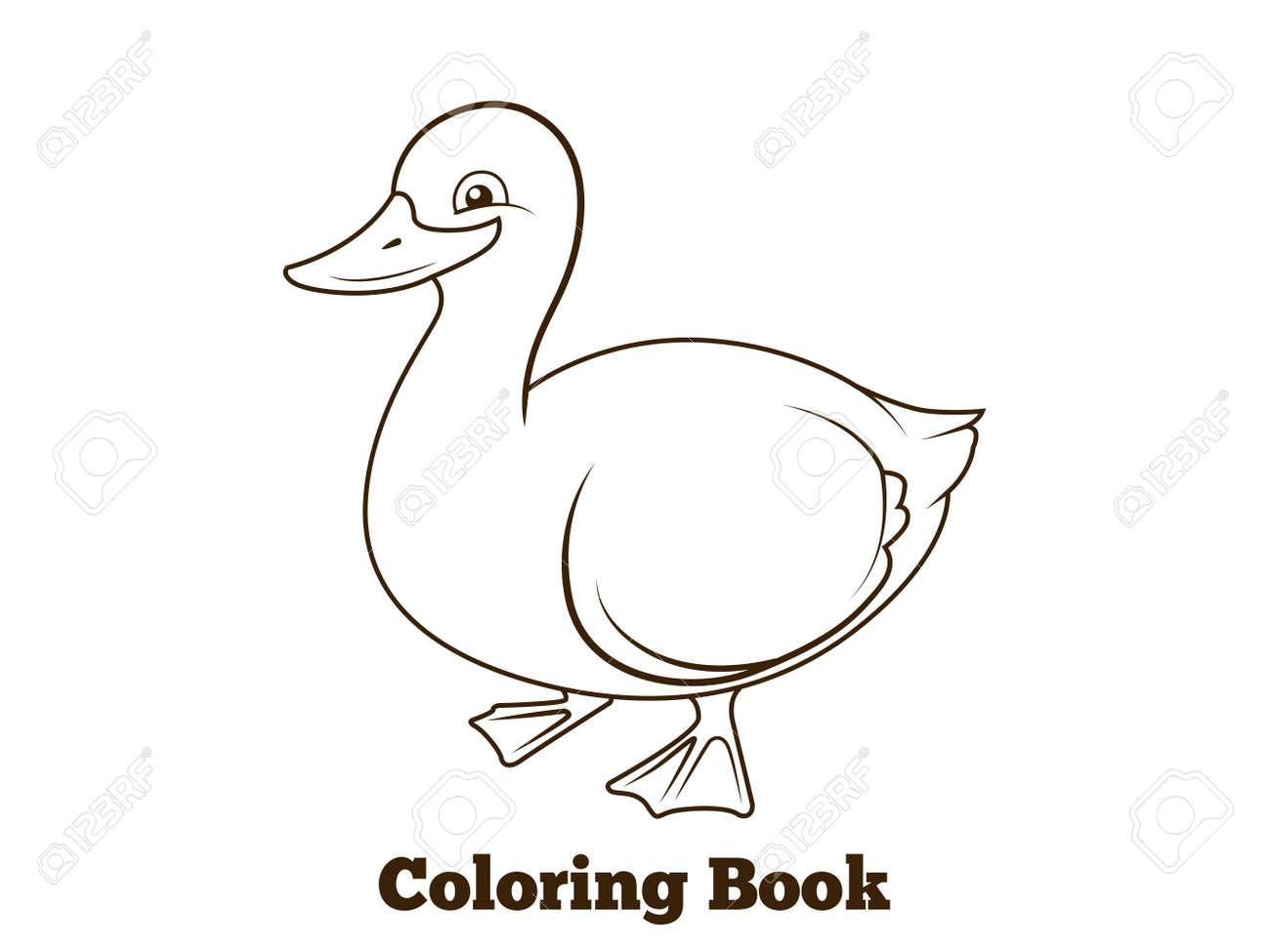 Hermosa Patos Para Colorear Adorno - Dibujos Para Colorear En Línea ...