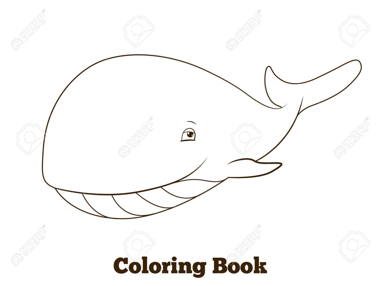 Atractivo Páginas Para Colorear De Ballena Azul Para Imprimir ...