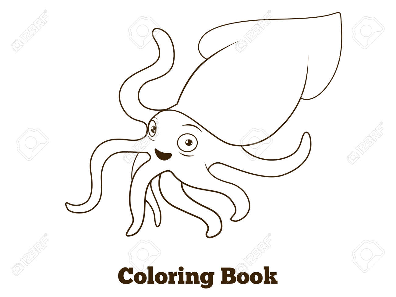 Para Colorear Un Pez Dibujo de Pez payaso para Colorear ...