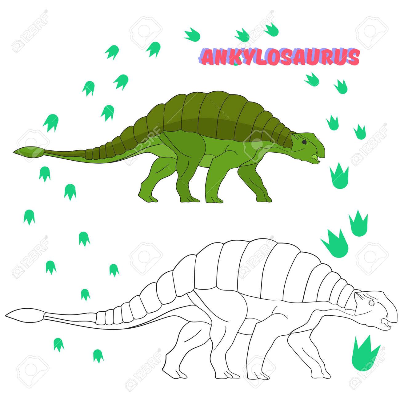 Perfecto Páginas Para Colorear De Dinosaurios Para Niños En Edad ...