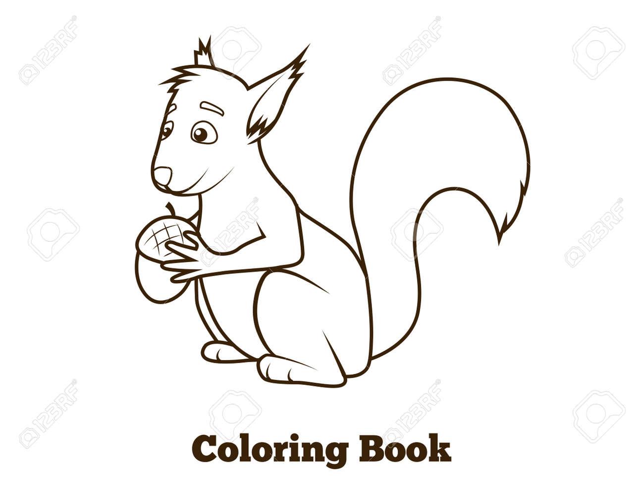Dibujos Ardillas Para Colorear. Dibujo De Jeanette La Ardilla Para ...