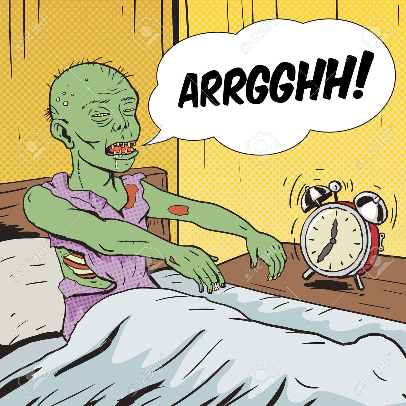 52529283-zombie-waking-up-in-the-morning-pop-art-style-vector-illustration-comic-book-style-imitation-vintage.jpg