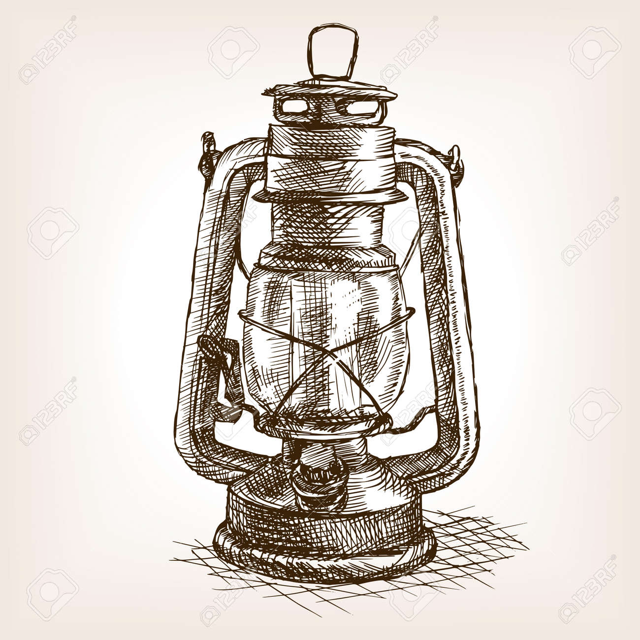 Cheap Vintage Lantern Sketch Style Vector Old Hand Drawn Engraving Imitation Object With Clipart