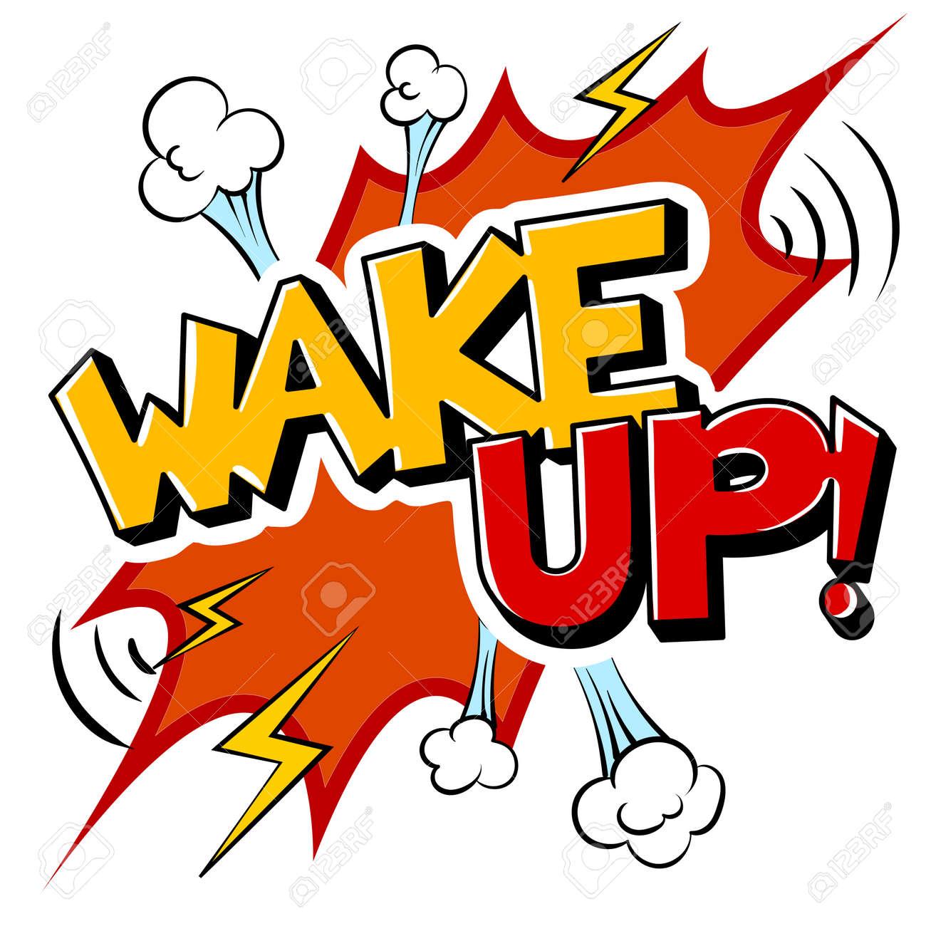 Wake Up Clip Art