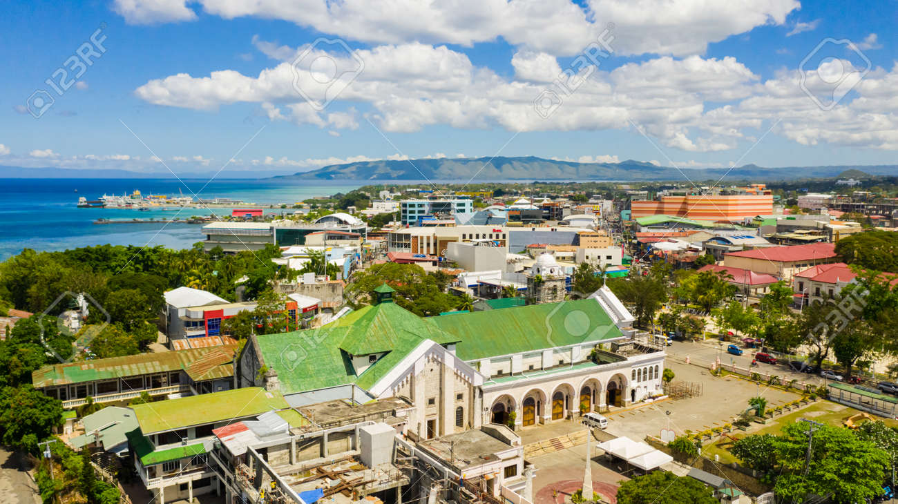 Tagbilaran is the capital city of the island province of Bohol in the Philippines. - 168137991