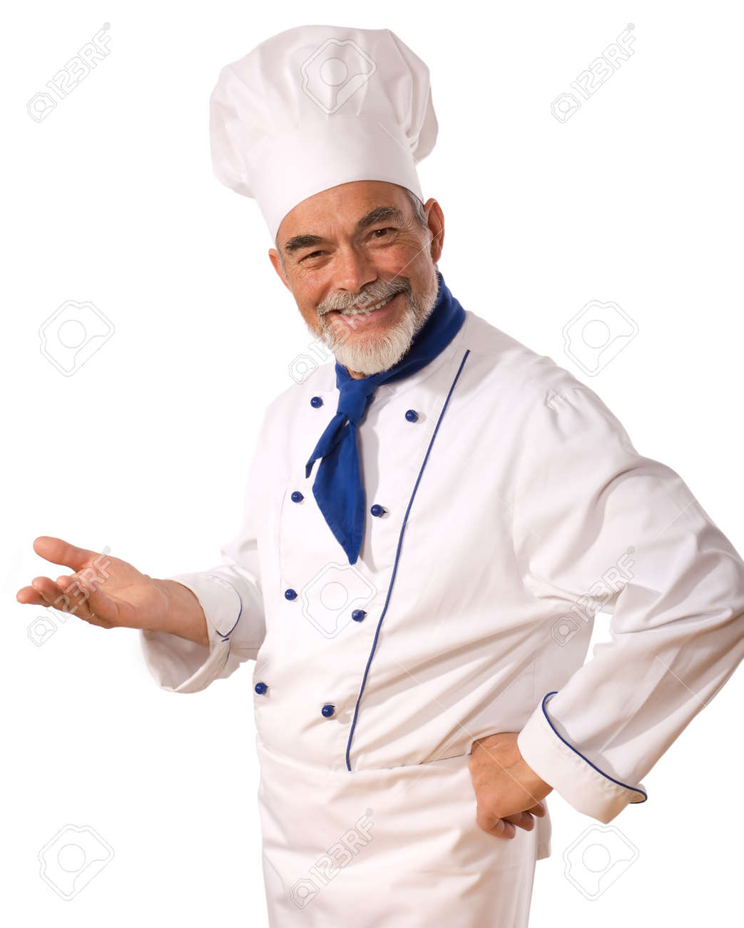 An attractive chef Stock Photo - 3868695