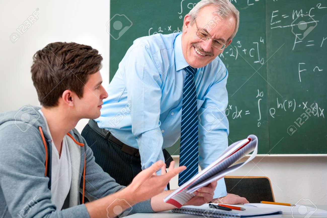 Teacher and student...?