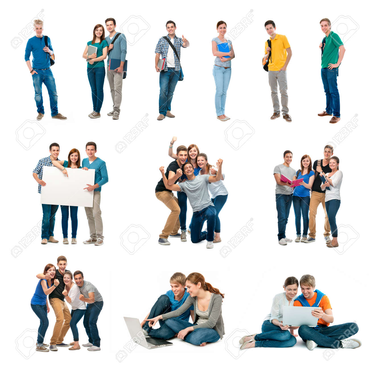 college graduation stock photos pictures royalty college college graduation group of students isolated over white background