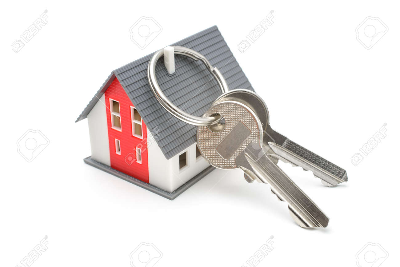 Camera con i tasti acquisto della casa di proprietà o concetto di