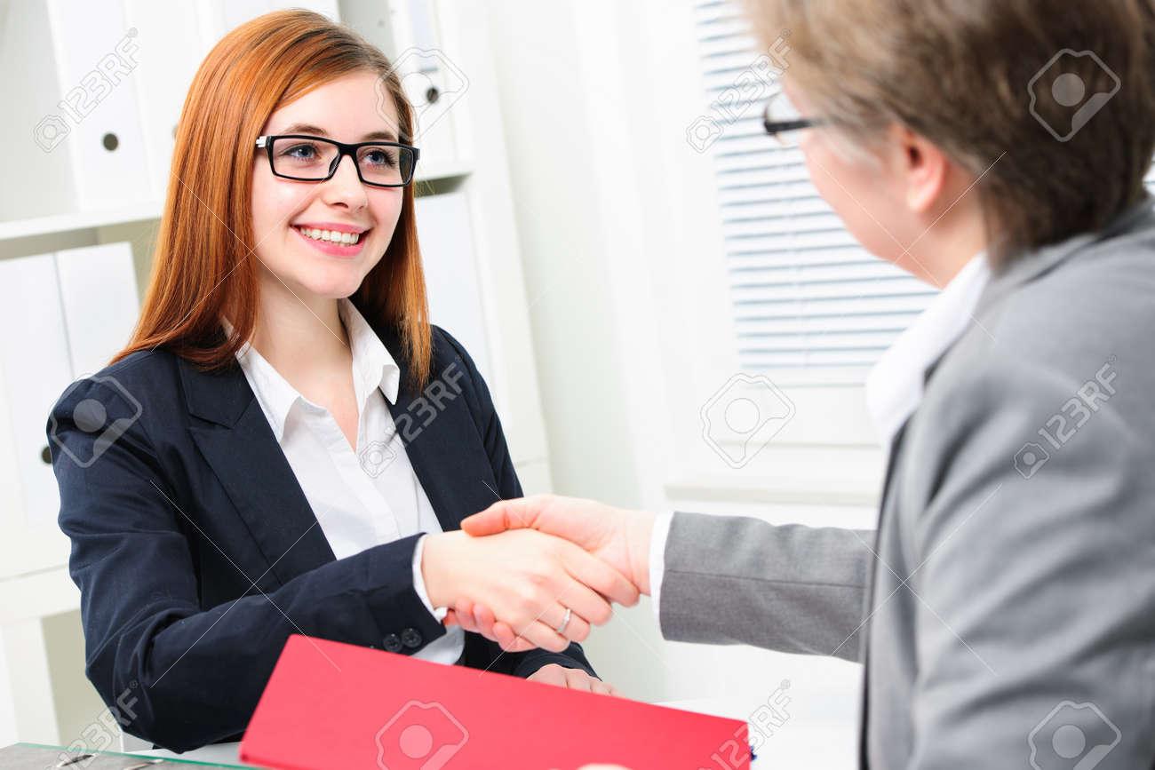 job applicant having interview handshake while job interviewing handshake while job interviewing stock photo 38005243