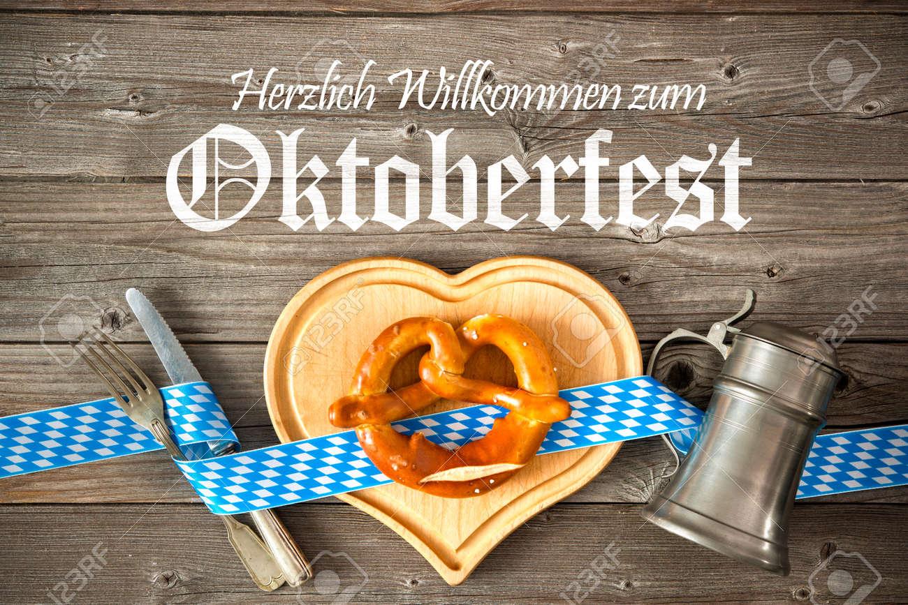 oktoberfest-vorlage hintergrund. willkommen auf dem oktoberfest, Einladung