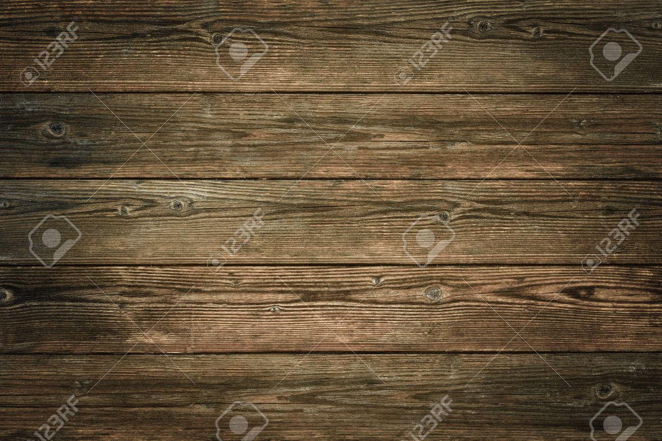 Wood texture, natural dark brown vintage wooden background Stock Photo - 45991622